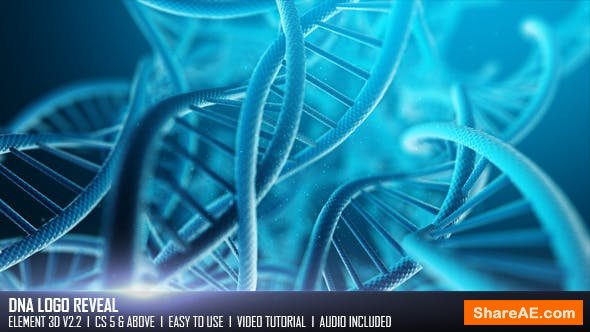 Videohive DNA Logo Reveal