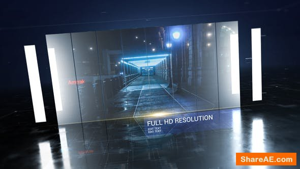 Videohive Tech Corporate Slideshow