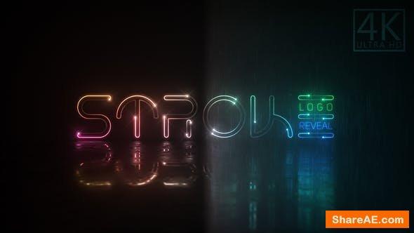 Videohive Neon Stroke Logo