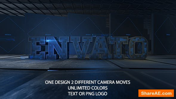 Videohive Hi-Tech Logo Reveal