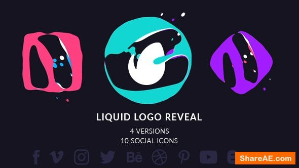 Videohive Simple Liquid Logo