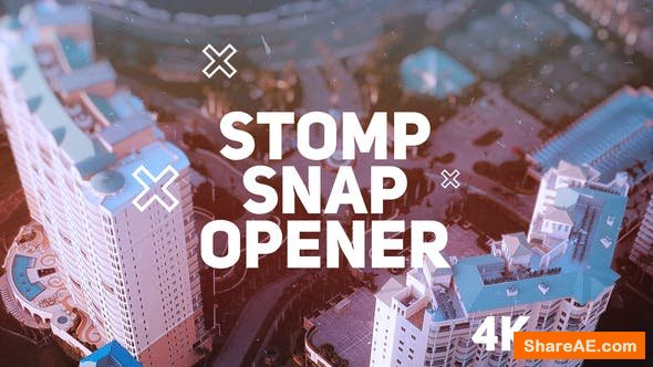 Videohive Stomp Snap Opener