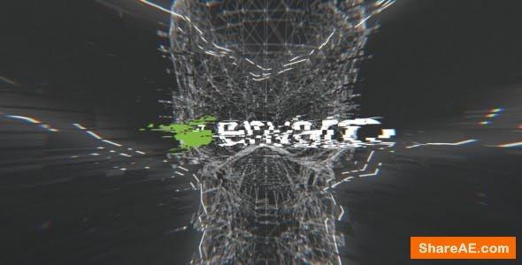 Videohive Dark Glitch Logo 20461259