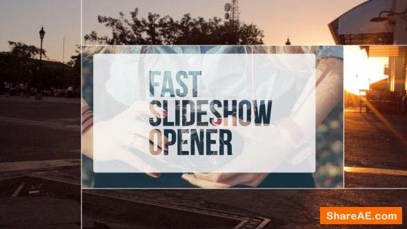 Videohive Fast Slideshow Opener