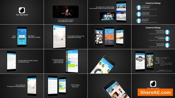 Videohive App Presentation 12422775
