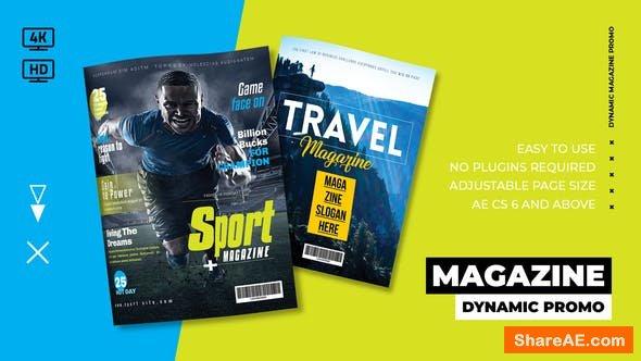 Videohive Dynamic Magazine Promo 23505557
