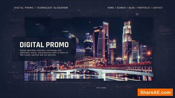 Videohive Digital Corporate Technology