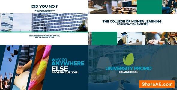 Videohive University Promo