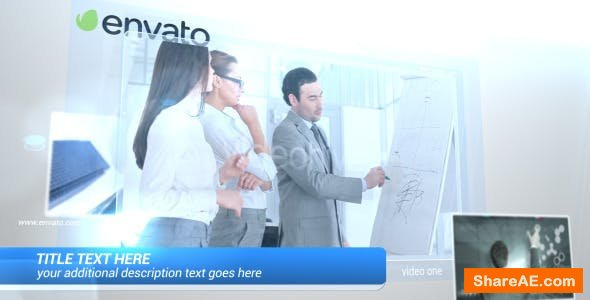 Videohive Glass Video Display 7086895