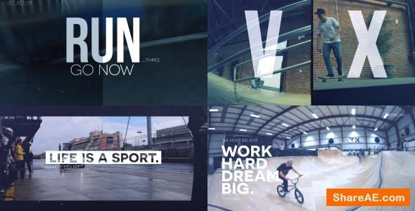 Videohive Sport Slideshow