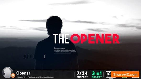 Videohive Opener