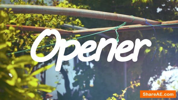 Videohive Fast and Clean Summer Opener