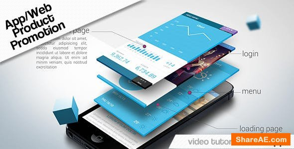 Videohive App Web Product Promotion
