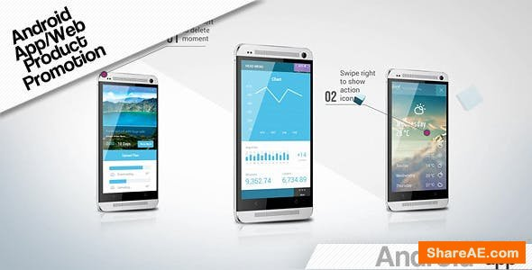 Videohive Android App/Web Product Promotion