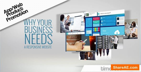 Videohive Promotion Web / App