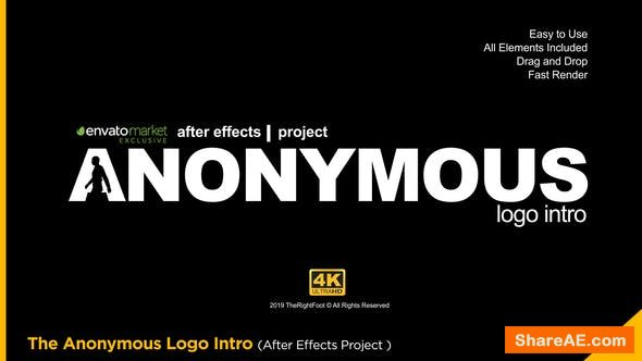 Videohive The Anonymous Logo