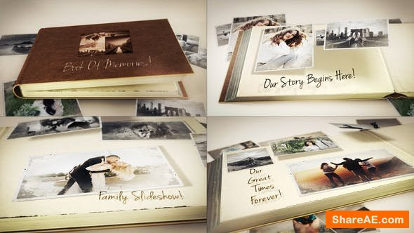 Videohive Book Of Memories
