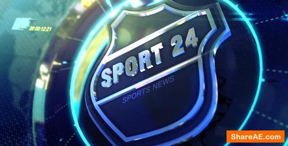 Videohive TV Broadcast Sports News Packages