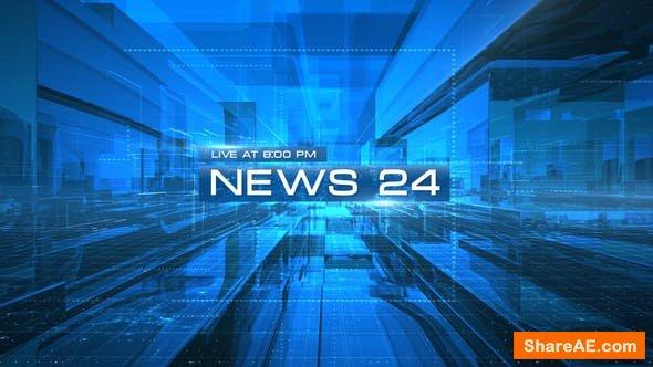 Videohive News 24 Opener