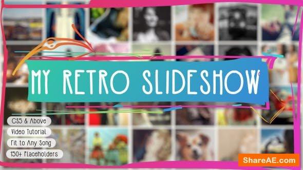 Videohive Retro Slideshow