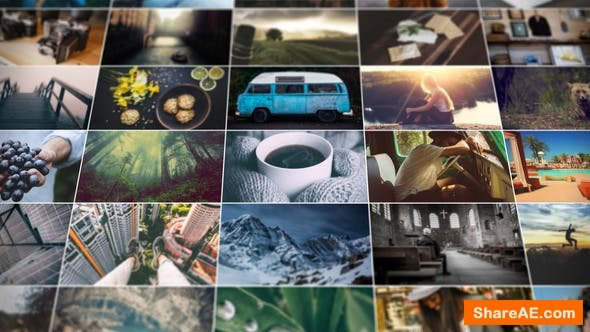 Videohive Grid Photo Gallery