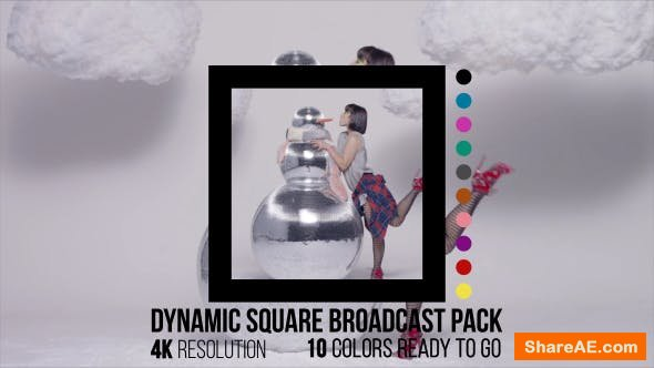 Videohive Dynamic Square Broadcast Pack