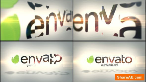 Videohive Corporate Flip Logo Reveal