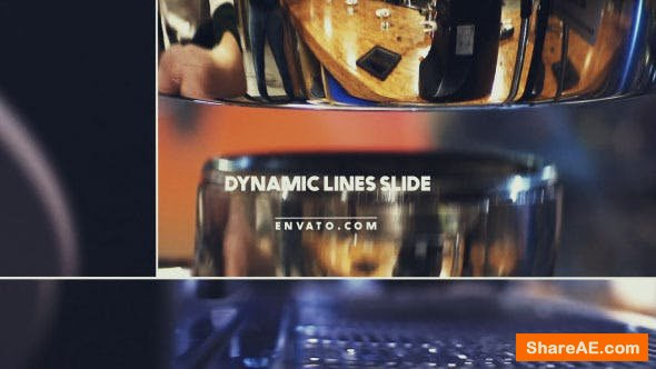 Videohive Dynamic Lines Slide