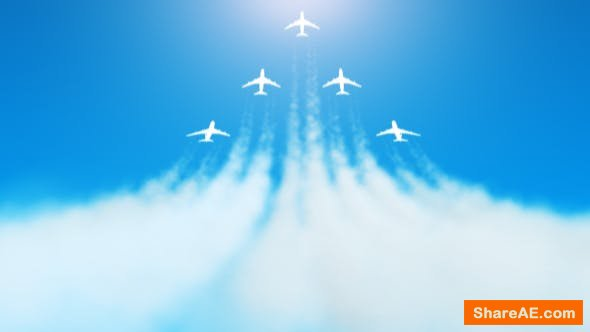 Videohive Fly Away Ident