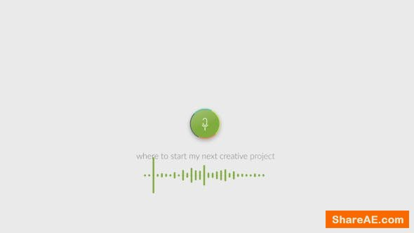 Videohive Voice Search Logo