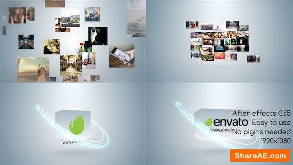 Videohive Simple Multi Video Logo