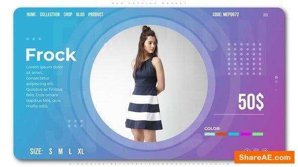 Videohive Neo Fashion Market