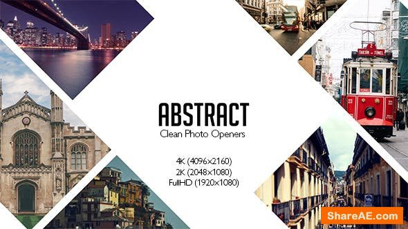Videohive Abstract Photo Openers - Logo Reveal