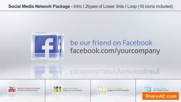 Videohive Social Media Network Package