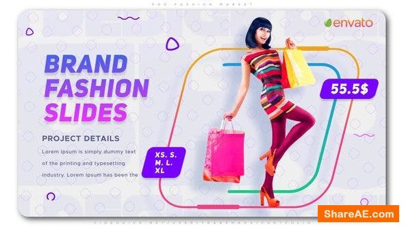 Videohive Fashion Market V2 » free after effects templates