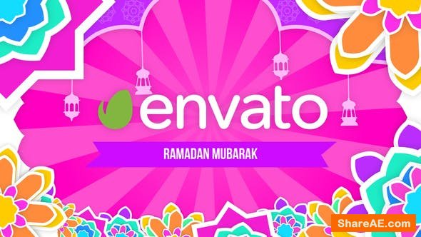 Videohive Colorful Ramadan