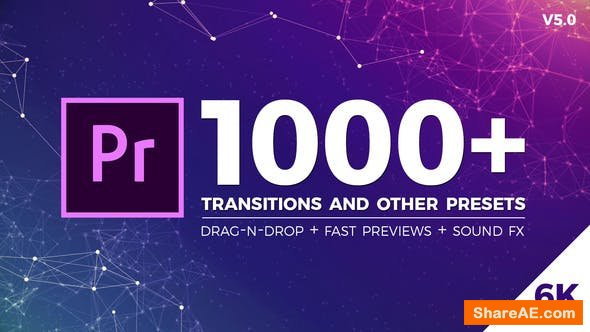 Videohive Seamless Transitions v5.0 - Premiere Pro