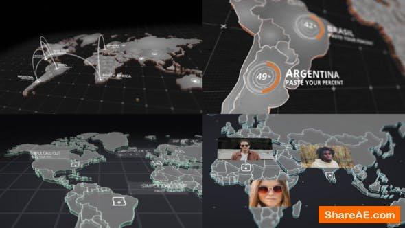 Videohive World Map Kit 20592273