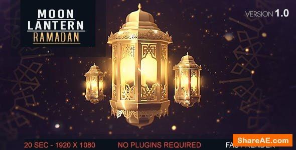 Videohive Lantern Moon Ramadan Ident