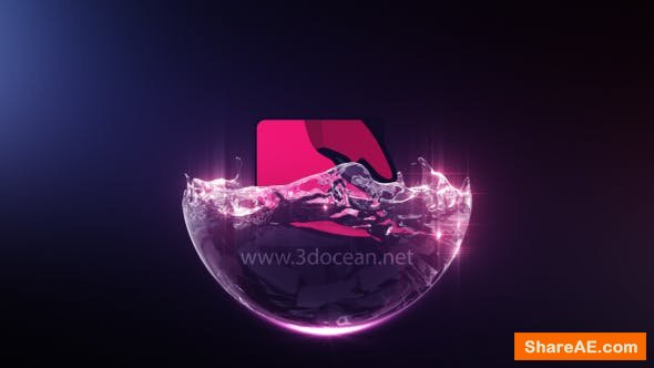 Videohive Liquid Sphere Logo Reveal