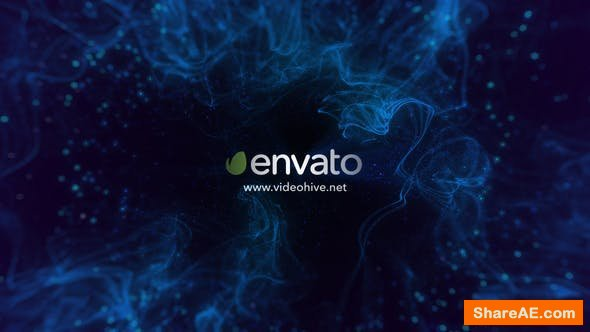 Videohive Spacious Particle Logo Reveal