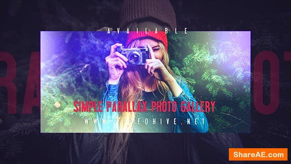 Videohive Simple Parallax Photo Gallery