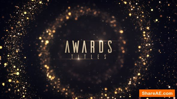 Videohive Awards Titles 22634467