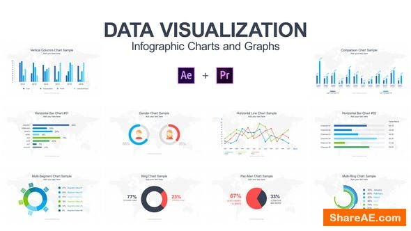 Videohive Data Visualization - Infographic Charts and Graphs