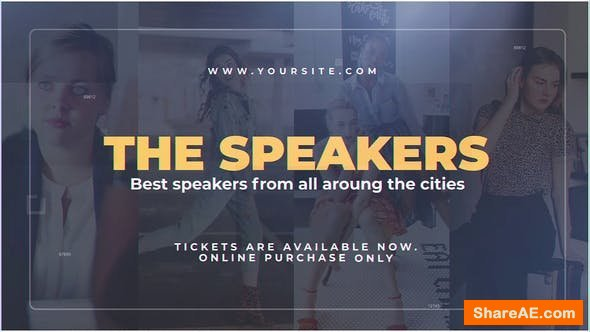 Videohive The Speakers