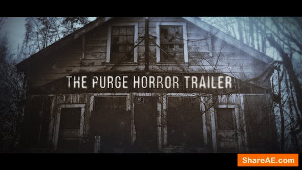 Videohive The Purge Trailer