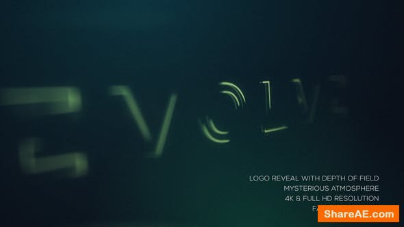 Videohive Mysterious Logo Reveal