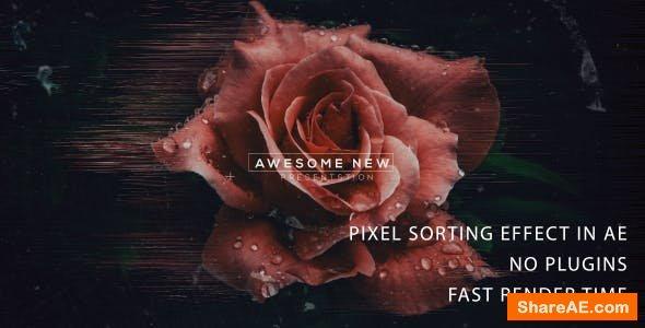 Videohive Pixel Sorting trailer 2