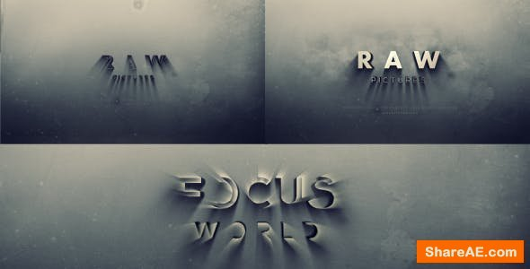 Videohive Bold Cinema Logo Reveal
