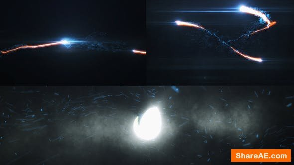 Videohive Energy Particle Blast Logo Reveal
